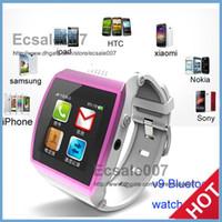 GSM850 Dutch with WiFi V9 VS U9 GSM Bluetooth 3.0 Smart Watch Phone IPS HD Touch screen MP3 MP4 Watch Mobile Phone FM