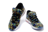 Wholesale New Arrivals KD VI EXT QS Flower Pattern Basketball Shoes For Men AAA Quality Mens Brand Sport Sneakers Fast Delivery