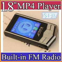 Wholesale 1 quot MP4 Player black Silver MP4 Player GB GB Built in FM Radio Voice Recorder MP