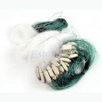 Wholesale 25m Clear White Green Monofilament Fishing Fish Gill Net with Float New