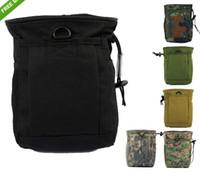 accessories compression - Molle Tactical Magazine DUMP Drop Pouch Small Size Black