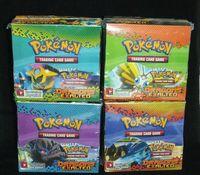 Malticolor free shipping anime - Pokemon Trading Card Game Anime Pocket Monste Poke Cards F324pcs box By DHL