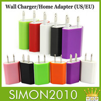 Direct Chargers iphone 5 charger - High quality colorful color US EU USB Wall Home Charger AC Adapter US Plug US usb charger for iphone samsung S5 S4 S3 HTC Blackberry LG