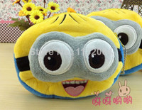 Coin Purses Yes Minion New Arrival! Despicable Me Minion Small Coin Purse Key Women Wallet Coin Case Storage Bag, Free Shipping Brazil!