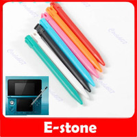 Wholesale 100 Plastic Candy Color Touchpen Stylus Pen for Nintendo DS