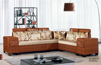 sectional sofa - 409C Modern living room furniture high quality ranttan sectional sofa sets home furniture sofa set