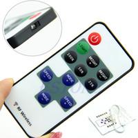 Wholesale DC V Keys RF Remote Controller Mini Dimmer for Led Single Color Strip