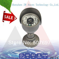 Yes Infrared Video Camera 1 3 Sony CCD 700TVL High-Line Security Camera 24IR CCTV bullet HD camera W Bracket