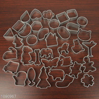 Wholesale Biscuit mold die fruit mousse pineapple cake mold cake mold ring selling single random hair style