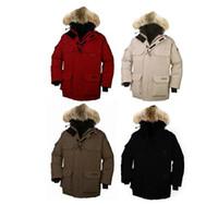 Wholesale New Down Coats Discount Hoodies Mens Coats Men Parkas Winter Jackets Men Outwear Men s Parkas Down Coats