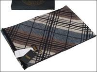 Wholesale 2014 Printed Thermal Good Quality Rectangle Silk Imitated Cashmere Brown Scarf Men Scarf Cashmere1