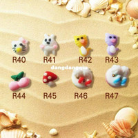 Wholesale small animal design Resin Flatback beads for Nail Art Scrapbooking DIY style