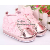 Wholesale Infant Soft Soled Shoes Baby First Walker Shoes Girls Blue Casual Shoes First Walking Shoes Fashion Shoes Toddler Footwear Baby First Shoes