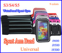 Sport Running Armband Leather Belt Clip Case Waterproof Arm ...