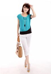 Wholesale 2014 Casual Women Clothing Chiffon Sheer Blouses blusas and camisas femininas Lady s Tops