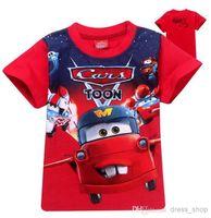 Boy Summer Standard Wholesale 2014 cartoon car t shirt boy kids t shirt clothes minion costume children's clothing children t shirts children's wear
