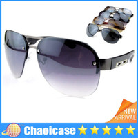 Wholesale Aviator sunglasses Mirrored silver gold high quality new hot fashion blue mirror eyewear brand vintage men woman sunglasses