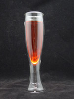 Wholesale fl oz ml C amp C Handblown double wall glass champagne glass red wine glass coffee mugs Glass coffee cups