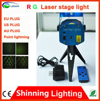 Wholesale WITH REMOTE New Arrival rgb laser stage lighting laser stage lighting animate mini laser stage lighting mini DJ party light