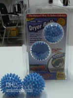 Wholesale Washer Washing Magic Dryer Balls Fabric Softener Reusable fluff balls set hotsale sets