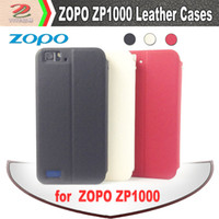 Cheap Original Holder Flip Leather Case for ZOPO ZP1000, Stand case, brand new, zopo1000 smart phone accessories, free shipping