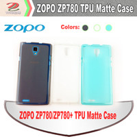 Cheap ZOPO ZP780 ZP780+ High Clear Matte Flexible TPU Case mobile cell phone accessories, cell phone cases, free shipping