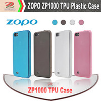 Cheap High Clear Matte Flexible TPU Case for ZOPO ZP1000, zopo smart phone accessories, free shipping