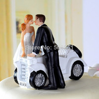 Wholesale Sweet Love Couple Wedding Bride and Groom Cake Topper Decorations