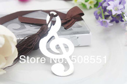 Wholesale Wedding Favor Bookmark Metal Bookmark Bookmarks Timeless Duet