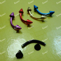 Wholesale Hot sale New Cool Labret Lip Body Pierce Nipple Navel Belly Eyebrow Bar LB341