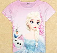 Hot 2014 new fashion Frozen Princess Elsa & Olaf childre...