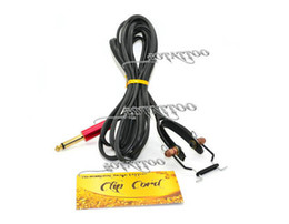 Wholesale Snake king II Soft Silica gel Tattoo professional grade spring clip cord