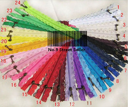 Wholesale Free Ship DIY New cm Nylon Coil Lace Zipper Zippers Puller for Tailor Sewer Craft Bag