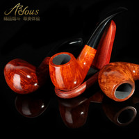 Wood Bent Type  Smoking pipe briar handmade smoking pipe tobacco smoking pipe smoking set 8 piece set a stone 872
