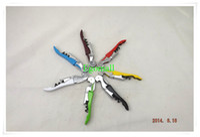 Wholesale Waiter s Wine Tool Bottle Opener Sea horse Corkscrew Knife Pulltap Double Hinged Corkscrew A393