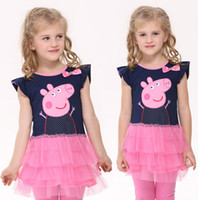 Cheap Girl's clothes 18m- 6y baby girls cupcake dresses kids ...