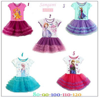2014 New Children's Clothing Fashion Frozen Princess Anna El...