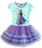 Frozen Princess Anna & Elsa Sofia Short Sleeve Cotton Su...