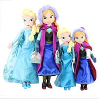 Frozen plush toys 2014 New 50cm Princess Elsa Plush Anna Plu...