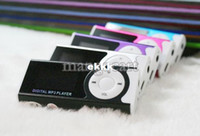 Wholesale New Hot Colorful Mini Clip Mp3 Player with LCD Screen and Flashlight Slot Support TF Card Music Player