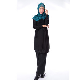 Wholesale Muslim dress fashion wild new Spring and Autumn clothing Palestinian Muslim Arab Islamic clothing W582