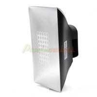 Wholesale Cheap Mini Universal Speedlight Soft Box for DSLR Retail