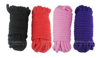 Wholesale Erotic SM special cotton rope bondage rope color optional taste Adult supplies passion appliances