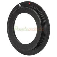 Wholesale Cheap M42 Screw Mount Lens for Canon EOS Body Adapter Ring Black Retail