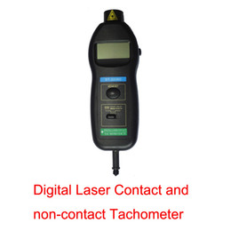 Wholesale Measurement Analysis Digital Laser Contact and non contact Tachometer