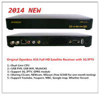 Wholesale Openbox A5S Digital Satellite TV Receiver with G amp IPTV USB PVR better than SKYBOX