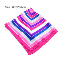 Wholesale 2014 New Arrival Popular Style Women Silk Scarf Printed cm Geometric Square Scarf