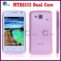 Wholesale 3 Inch android cell phones MTK6572 Dual Core phone Smartphone MB RAM MB ROM MP Android mobile GPS Z doxio G7106i