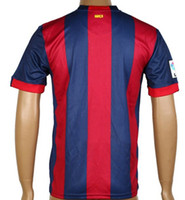Wholesale Barcelona Home Blank soccer jerseys Best Thai Quality Adult Mens Football Club Jerseys Free Custom S XL