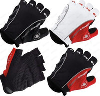 Castelli Rosso Corsa Men's Motorcycle Gloves Fingerless Moto...